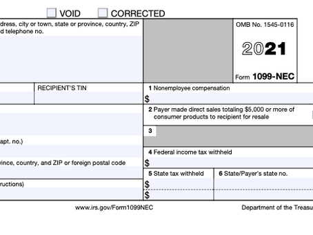 The New Form 1099-NEC and 1099 Best Practices to Kickstart 2021