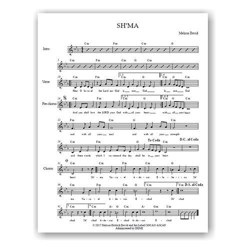 Sh'ma (Lead Sheet)