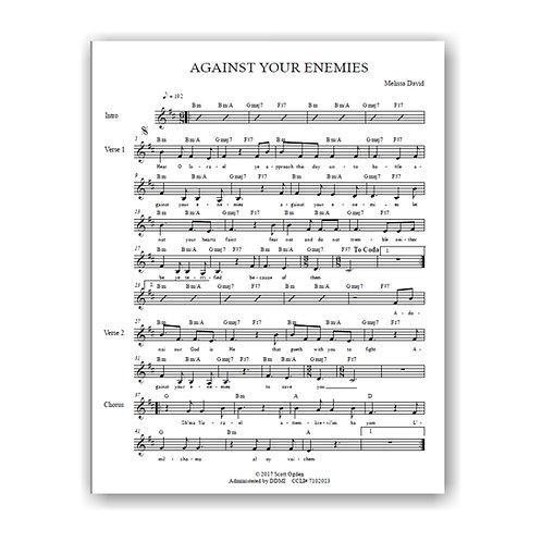 Against Your Enemies (Lead Sheet)