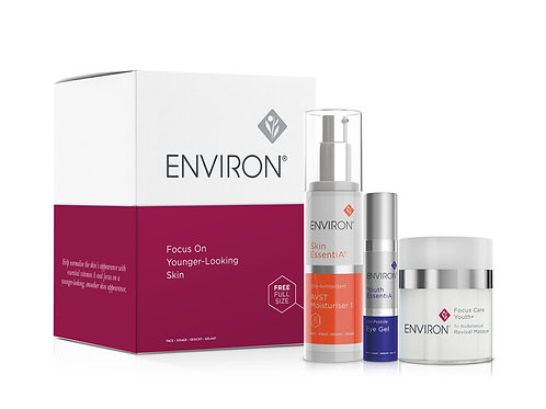 Focus on younger looking skin kit