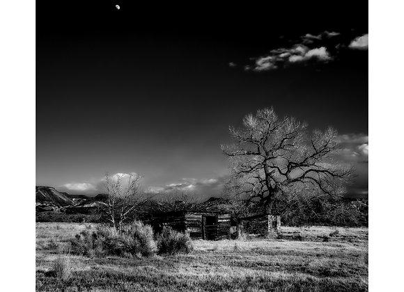 New Mexico - Jemez #2 - moonrise.