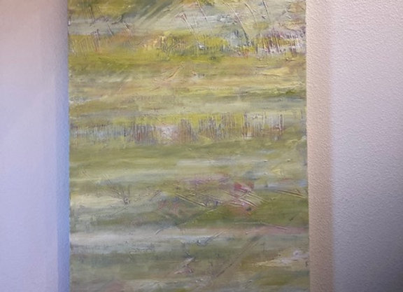 Sharon Lilly Samuels - Springtime Abstraction