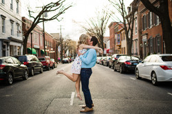 engagement downtown frederick md