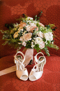 shoes bouquet wedding frederick md