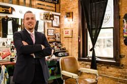 tried and true barber shop groom beer mcclintock distillery frederick md