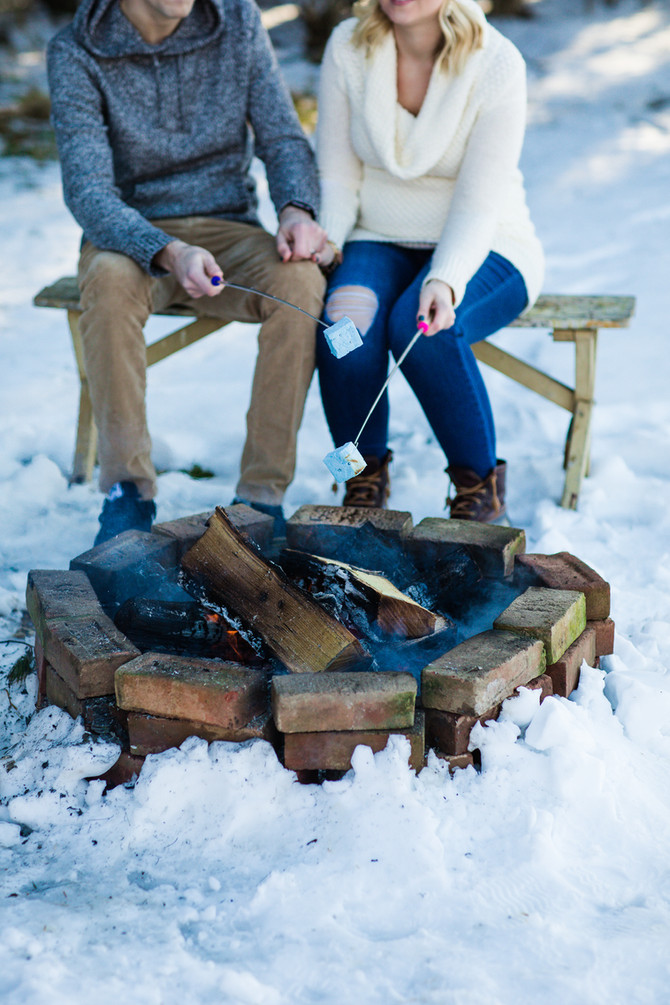 Kelley & Seth's S'more Gender Reveal