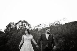 bride groom backyard wedding fall sunset frederick md