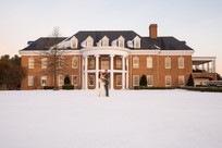 Holly Hills Country Club Snowy Wedding Styled Shoot