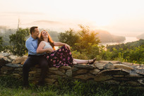 Harpers Ferry Sunrise Engagement Session