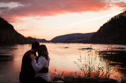 sunrise engagement harpers ferry wv frederick md