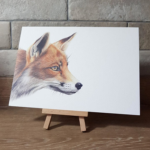 'Mr Fox' Greeting Card