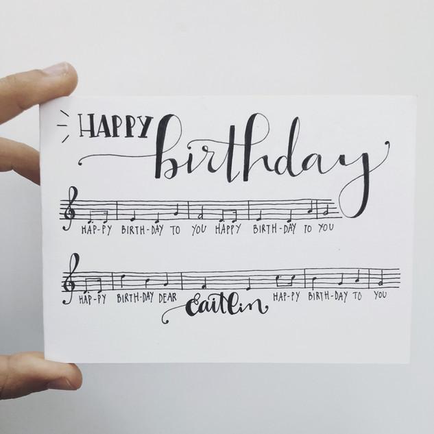 Wenskaart - verjaardag