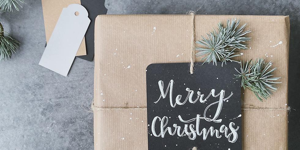 Workshop cadeautjes inpakken · feestdagen