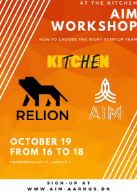 AIM WORKSHOP: How to find the right team