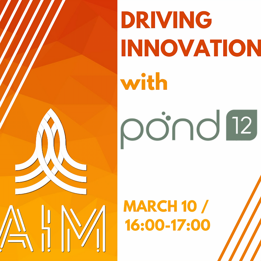 Driving Innovation with Pond12 (ONLINE)