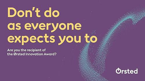 Ørsted Innovation Award 2019