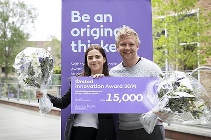 Winners of the Ørsted Innovation Award 2019