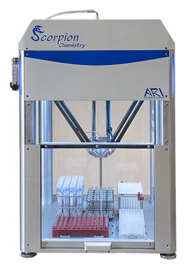 scorpion for chemistry, high throughput experimetation, hte automation, liquid handling, synthetic chemistry automation