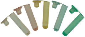 serum tubes 200μL, red, clear, yellow, blue, green, pink, assorted