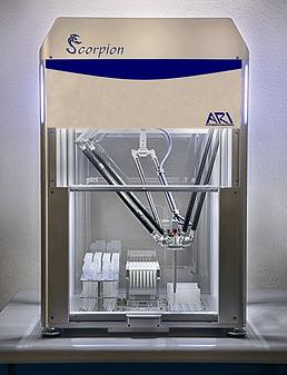 scorpion, protein screen builder, delta robot, screen optimization, protein crystallization