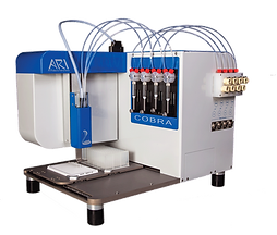 non-contact dispenser, nano dispenser,mastermix dispenser, cell dispenser
