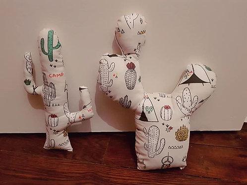 Peluche cactus imprimé desert indien