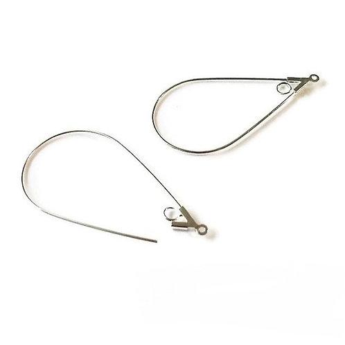Support boucles d'oreillesen forme de gourde