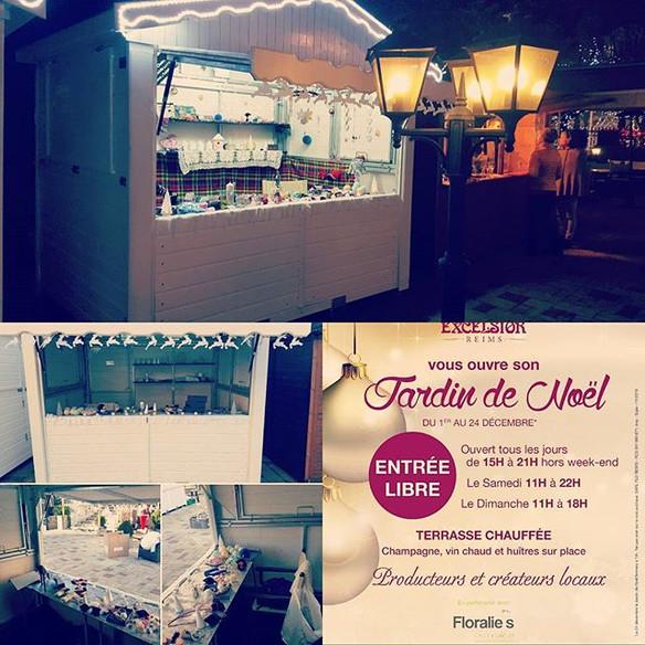 Jardin de Noël de la brasserie Flo