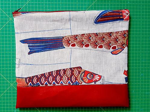 Grande pochette cerf-volant japonais
