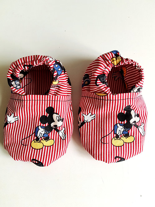 Chausson bébé 9-12 mois Mickey de Disney