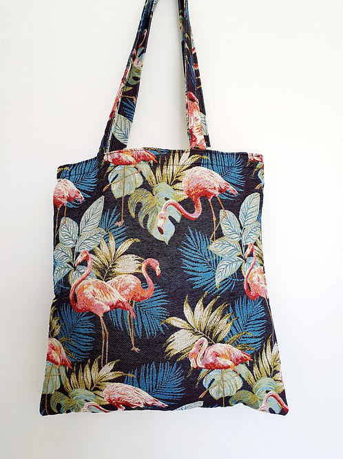 Tote bag flamant Rose
