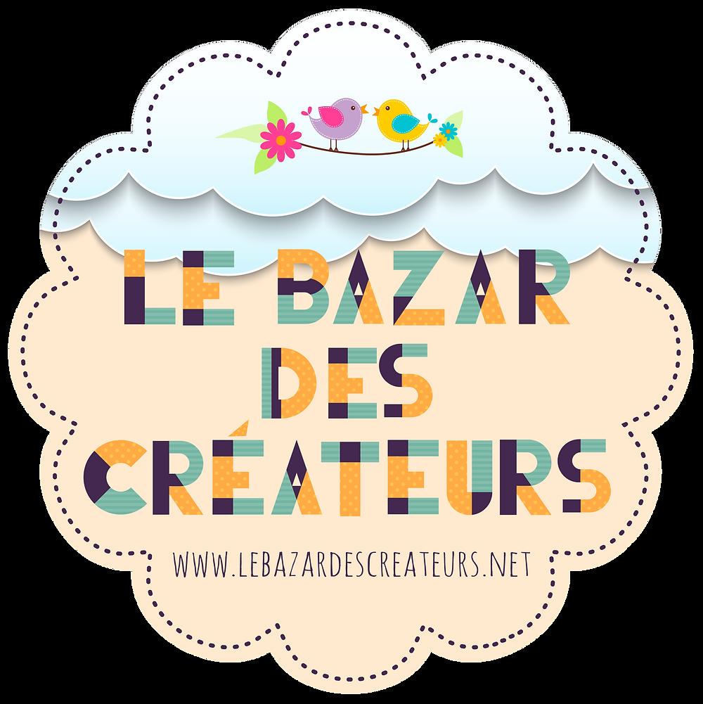 Créateur du logo Envisuel pour Le Bazar des Créateurs