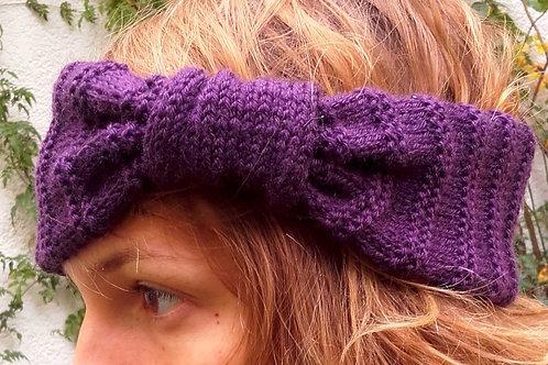 Tour de tête tricoté