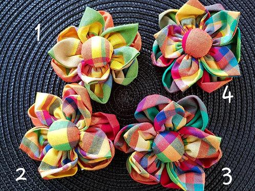 pince à cheveux forme de fleur 5 pétales
