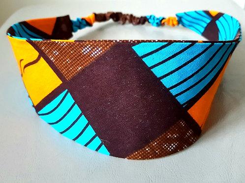 Hair Band large bandeau plat collection afrique