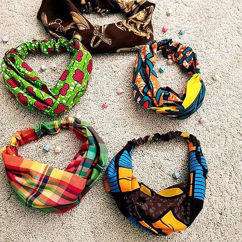 Hairband large bandeau  collection afrique