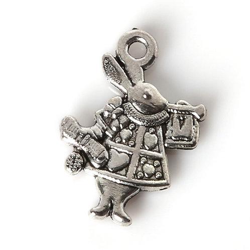 Breloque le lapin d'Alice