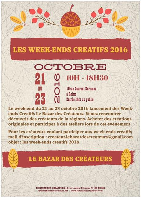Lancement des Week-ends créatifs