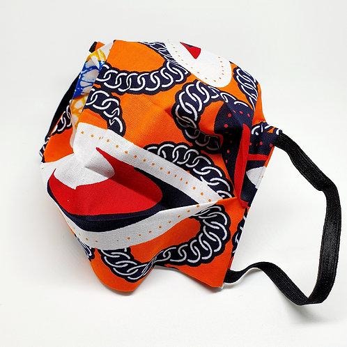 Masque alternatif FM Wax orange bleu