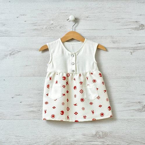 La petite fille d'été 3-9 mois par Kei Atelier