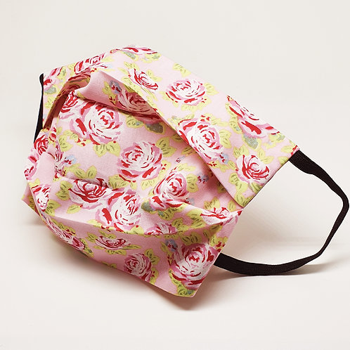 Masque alternatif FM motif rose à fleurs