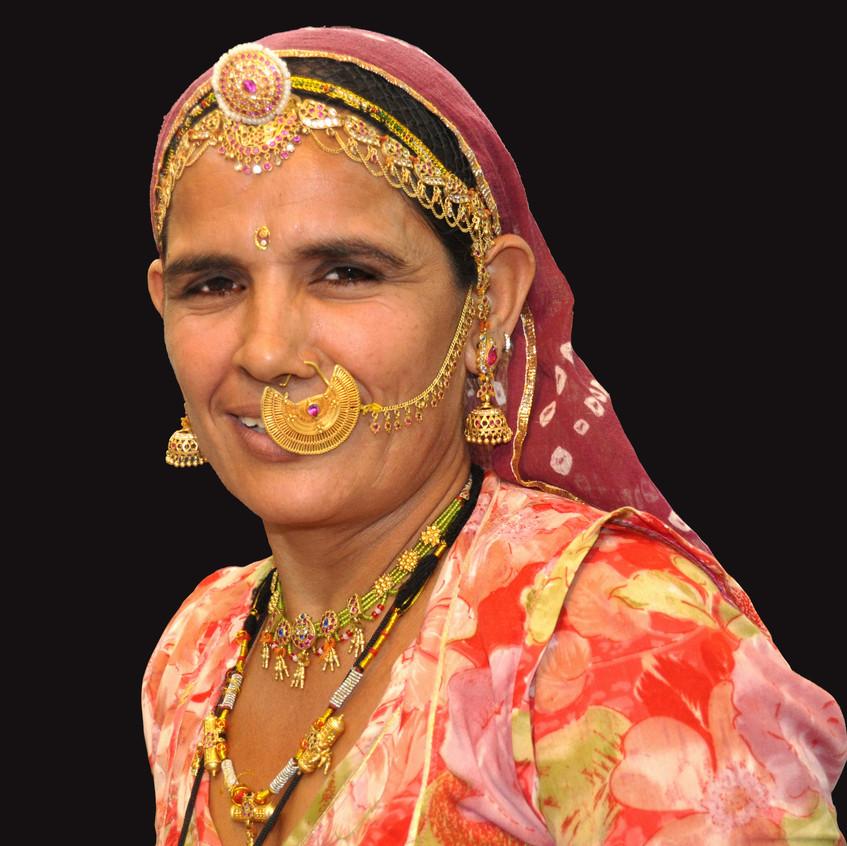 Lady of India