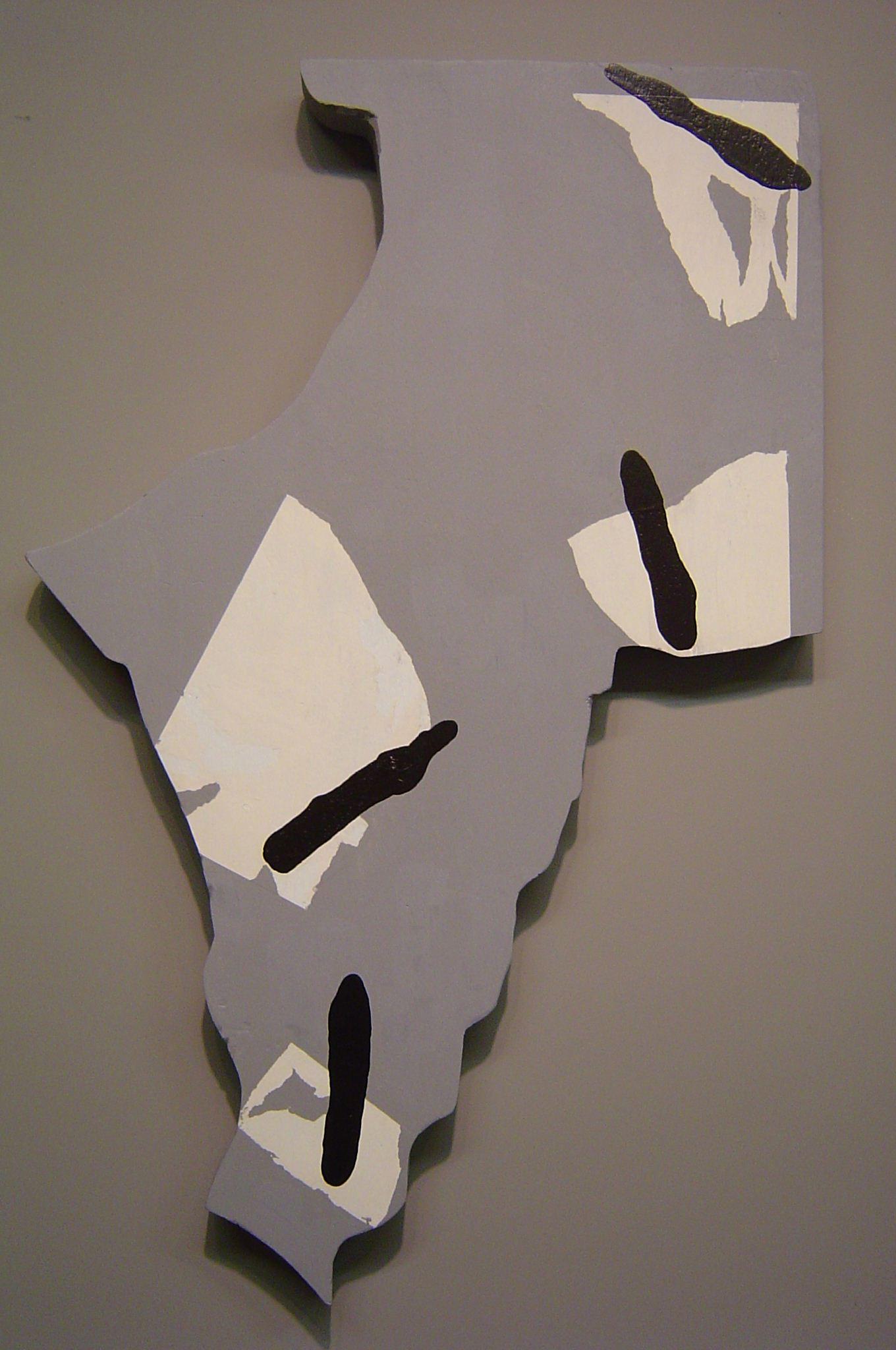 Lazarus fragment, copy 1, Motley, 2001,