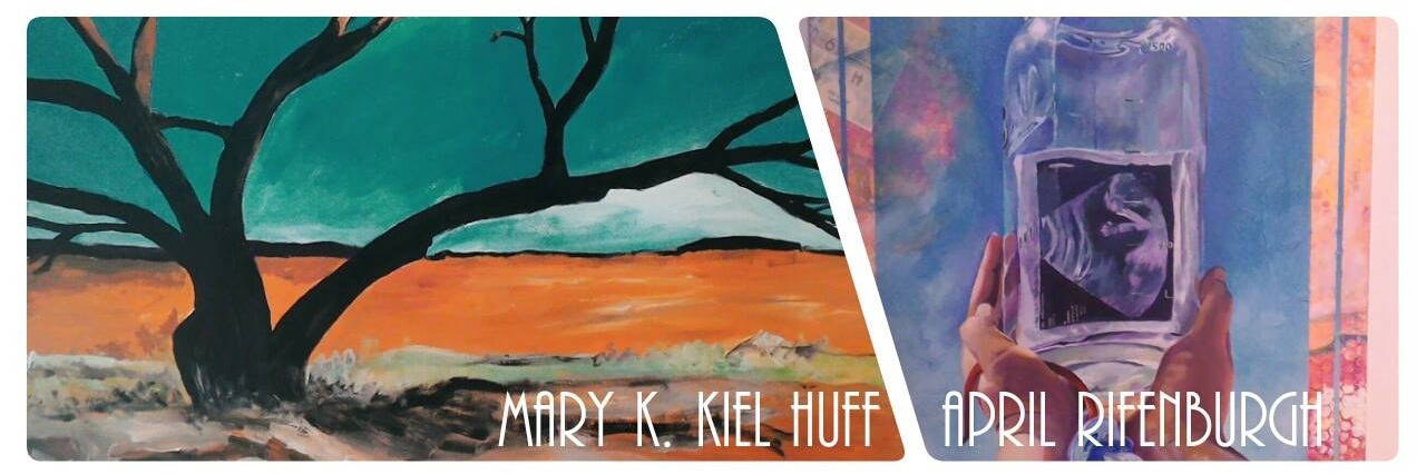 Mary K. Kiel Huff & April Rifenburgh