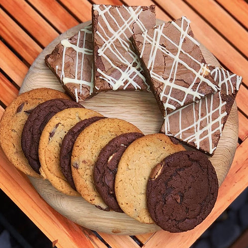 Deluxe Brownie & Cookie Treat Box