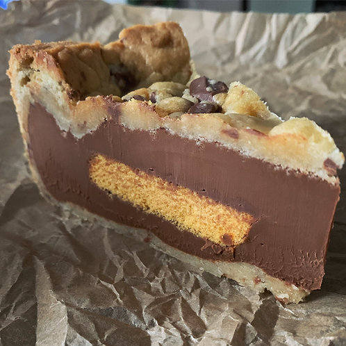 Full Caramel & Crunchie Cookie Pie - Collection From Makers Markets