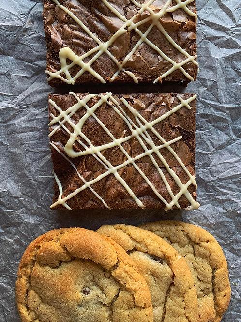Brownie & Cookie Treat Box