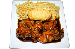 General Chow Combo Plate