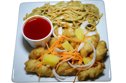 Sweet and Sour Chicken Combo Plate