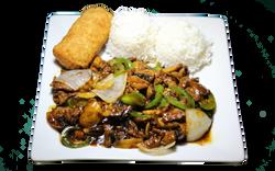Jalapeño Beef Combo Plate